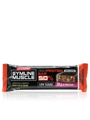 Enervit Gymline Muscle High Protein Bar 50% Arancia Cioccolato