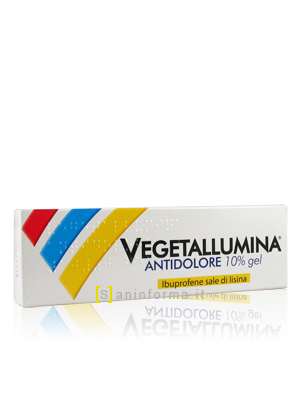 Vegetallumina Antidolore 10% Gel