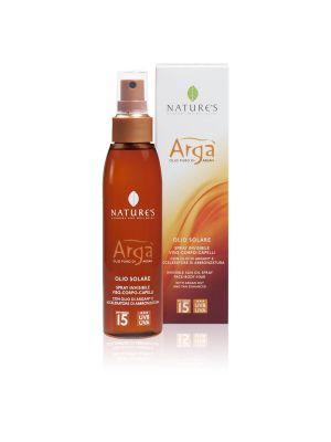Nature's Arga' Olio Solare Spray SPF15