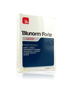 Blunorm Forte Compresse Fast Slow