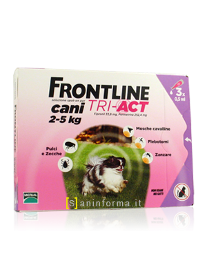 Frontline Spot-On Cani TRI-ACT Kg 2-5