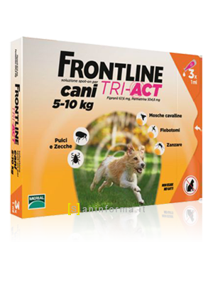 Frontline Spot-On Cani TRI-ACT Kg 5-10