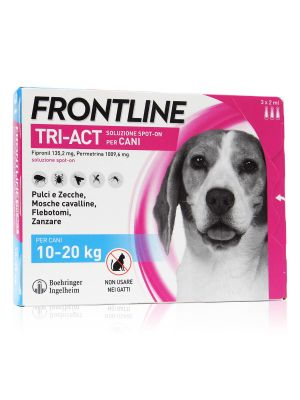 Frontline Tri-Act Spot-On Cani Kg 10-20