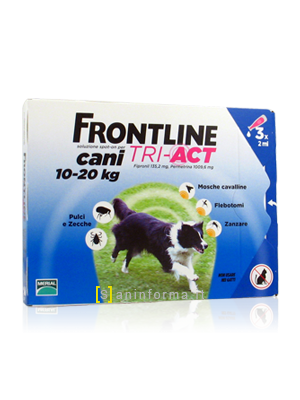 Frontline Spot-On Cani TRI-ACT Kg 10-20
