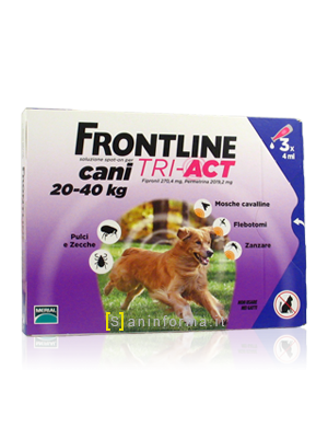 Frontline Spot-On Cani TRI-ACT Kg 20-40