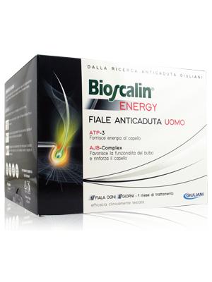 Bioscalin Energy Fiale Anticaduta Uomo