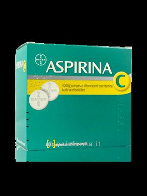 Aspirina C Effervescente con Vitamina C
