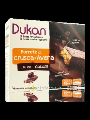 Dukan Barrette di Crusca d'Avena Extra Golose