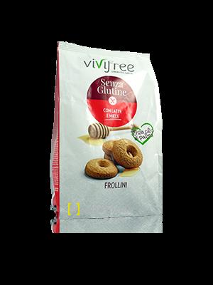 Vivifree Frollini Con Latte e Miele Senza Glutine