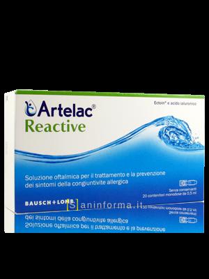 Artelac Reactive Monodose Maxi
