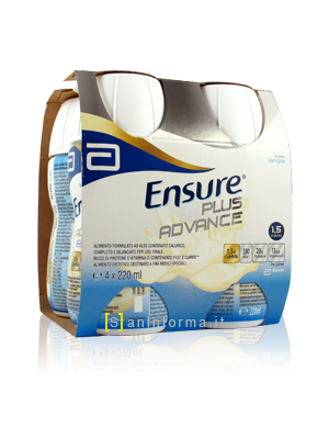 Ensure Plus Advance Gusto Vaniglia