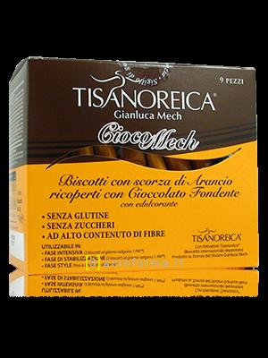 Tisanoreica Choco Mech Biscotti Arancia-Cioccolato