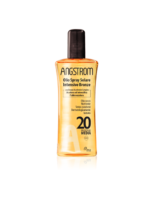 Angstrom Intensive Bronze Olio Spray Spf20