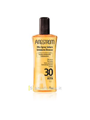 Angstrom Intensive Bronze Olio Spray Spf30