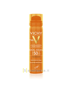 Vichy Ideal Soleil Spray Invisibile Viso Spf50