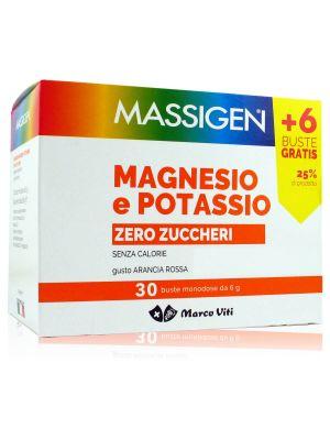 Massigen Magnesio e Potassio Senza Zuccheri
