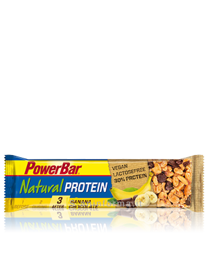 Power Bar Natural Protein Gusto Banana-Cioccolato