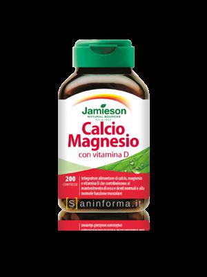 Jamieson Calcio Magnesio con Vitamina D