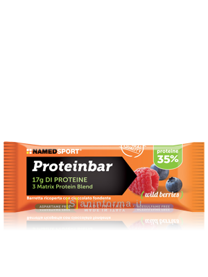 Named Sport Total Energy Proteinbar Gusto Frutti di Bosco