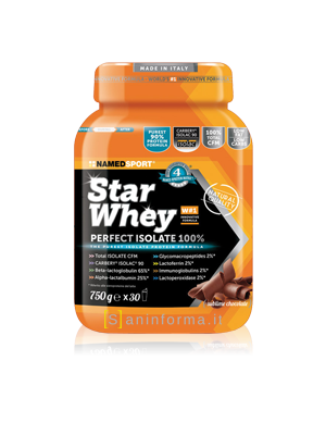 Named Sport Star Whey 100% Gusto Cioccolato