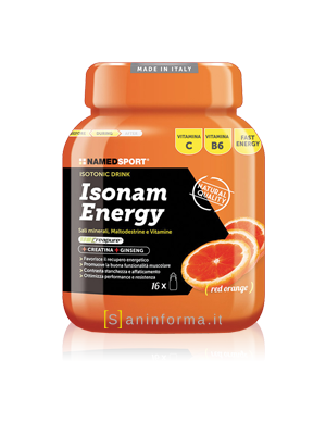 Named Sport Isonam Energy Gusto Arancia