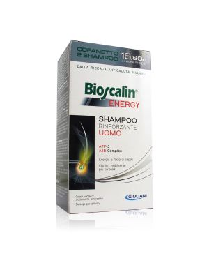 Bioscalin Energy Duo Shampoo Rinforzante Uomo