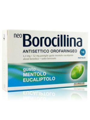 Neo Borocillina Antisettico Orale Mentolo Eucaliptolo Pastiglie