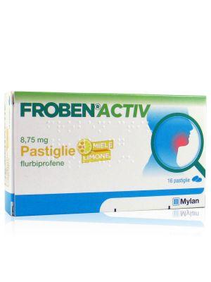 Froben Activ 8,75 mg Pastiglie Miele e Limone