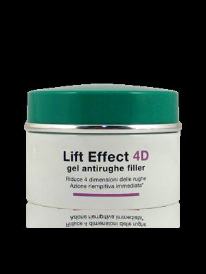 Somatoline Cosmetic Lift Effect 4D Gel Antirughe Filler Pelle Normale Mista