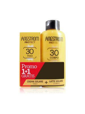Angstrom Protect Duo Latte SPF 30 Corpo + Omaggio Crema Soalare Viso