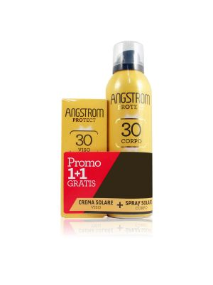 Angstrom Protect Duo Spray Solare SPF 30 Corpo + Omaggio Crema Solare Viso
