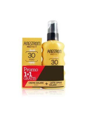 Angstrom Protect Duo Latte Spray Corpo SPF 30 Corpo + Omaggio Crema Soalare Viso