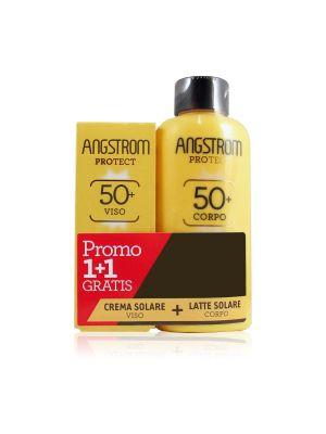 Angstrom Protect Duo Latte SPF 50+ Corpo + Omaggio Crema Soalare Viso