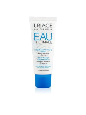 Uriage Eau Thermale Crema Ricca All'Acqua SPF20
