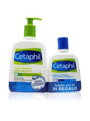 Cetaphil Duo Fluido Idratante + OMAGGIO Emulsione Detergente