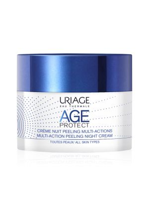 Uriage Age Protect Crema Notte Peeling Multiazione