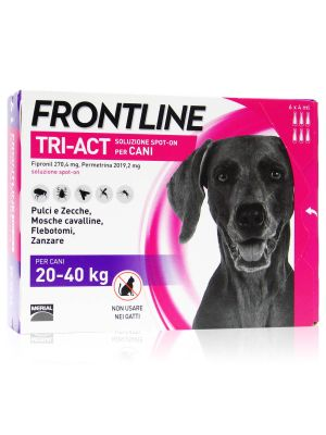 Frontline Tri-Act  Spot-On Cani Kg 20-40 Maxi