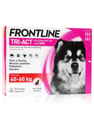 Frontline Tri-Act  Spot-On Cani Kg 40-60