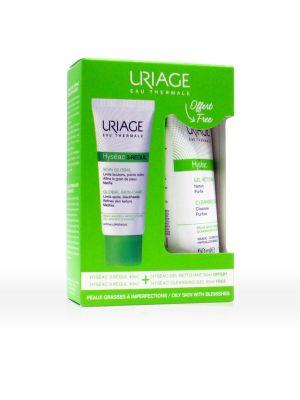 Uriage Hyseac 3-Regul Trattamento Globale + Omaggio Hyseac Gel Detergente