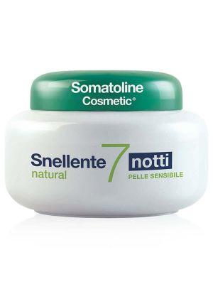 Somatoline Cosmetic Snellente 7 Notti Natural Pelle Sensibile