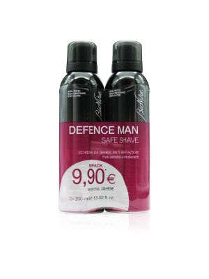 BIONIKE DEFENCE MAN SCHIUMA DA BARBA ANTI-IRRITAZIONI DUO