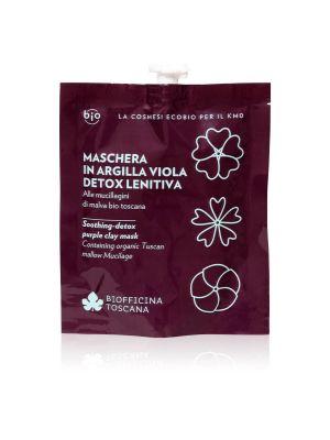 Biofficina Toscana Maschera in argilla viola Detox Lenitiva