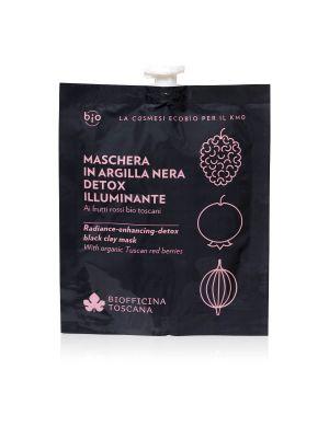 Biofficina Toscana Maschera in Argilla Nera Detox Illuminante