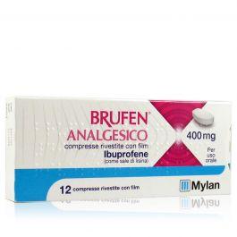 Brufen Analgesico Ibuprofene 400 Mg Mal Di Testa Denti E Altri Dolori Uso Orale Saninforma