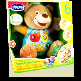 Chicco Teddy Canta Con Me 6m+ | Giochi per Bambini e Neonati