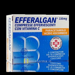 Efferalgan 330 mg Compresse Effervescenti con Vitamina C