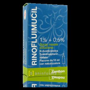 Rinofluimucil 1% + 0,5% Spray Nasale Soluzione