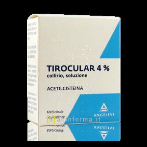 Tirocular 4% Acetilsteina
