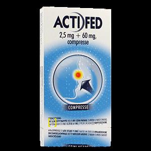 Actifed 12 compresse