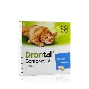 Drontal Compresse per Gatti